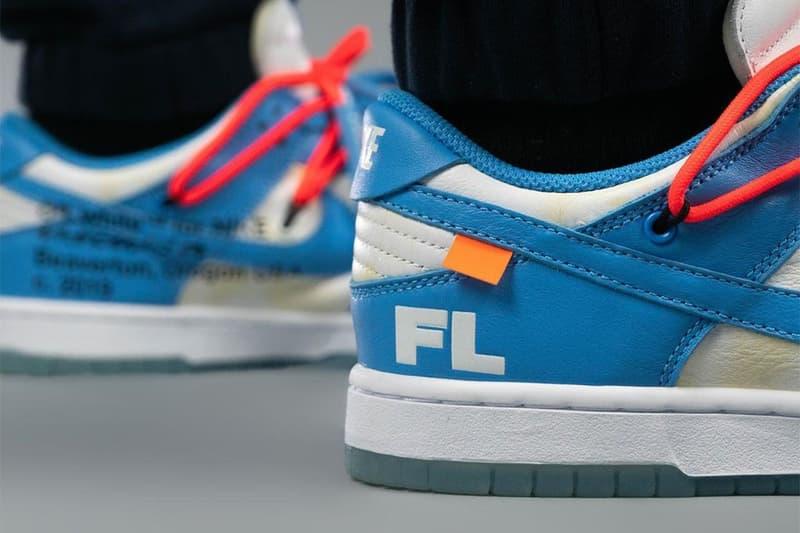 Off-White™ x Futura x Nike Dunk Low「UNC」配色登場