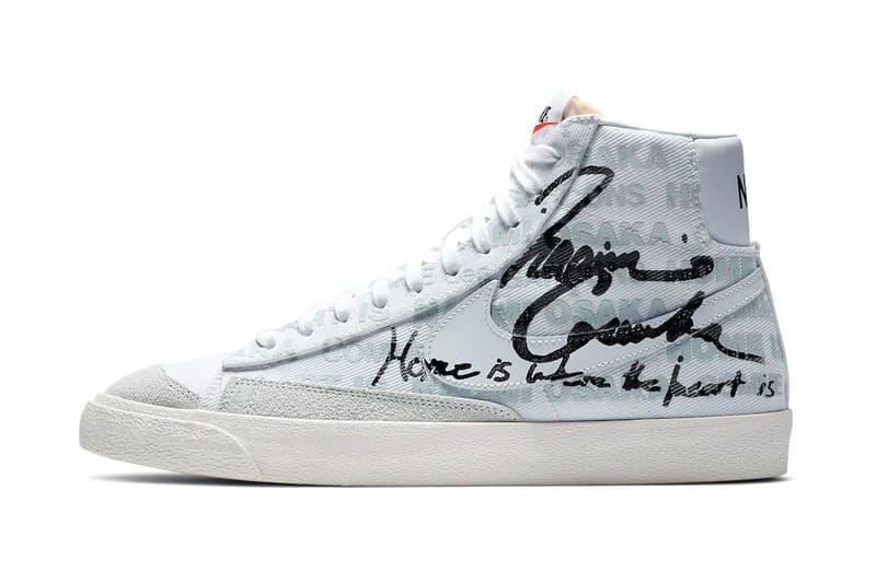 大坂直美專屬 COMME des GARÇONS x Nike Blazer Mid 聯乘鞋款官方圖輯發佈