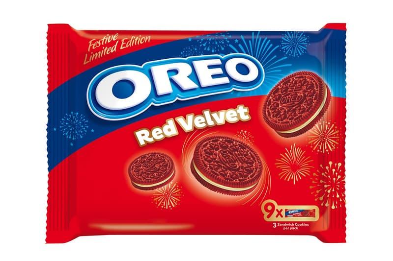 票選十大口味之冠-OREO 推出全新節日限定「紅絲絨」夾心餅乾