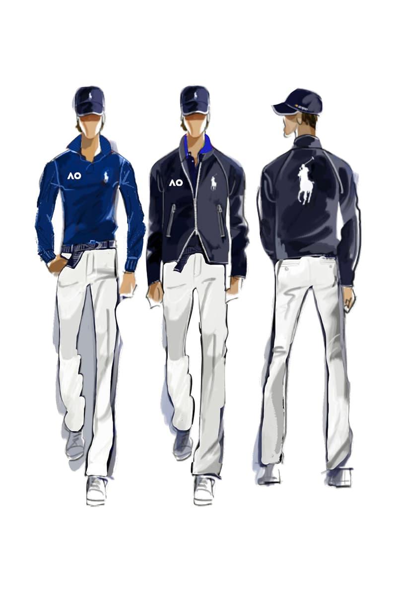 Ralph Lauren 成為澳大利亞網球公開賽官方指定服裝品牌