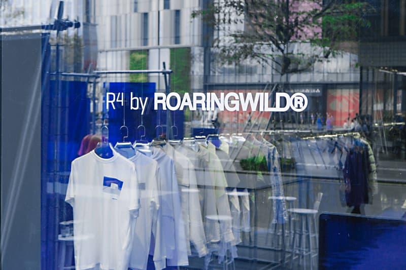 走進 ROARINGWILD 全新「R⁴」Pop-Up 概念店舖