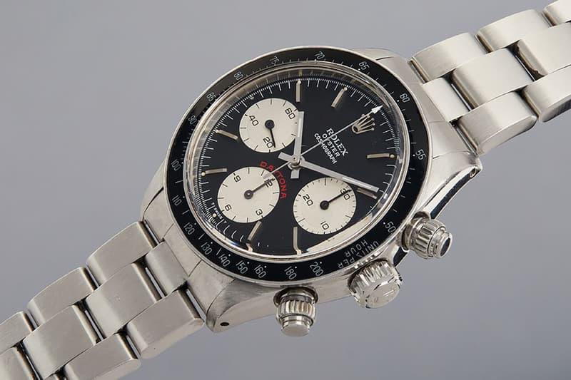 Paul Newman 極上 Rolex Daytona 和 Steve McQueen 經典 Heuer Monaco 腕錶即將拍賣