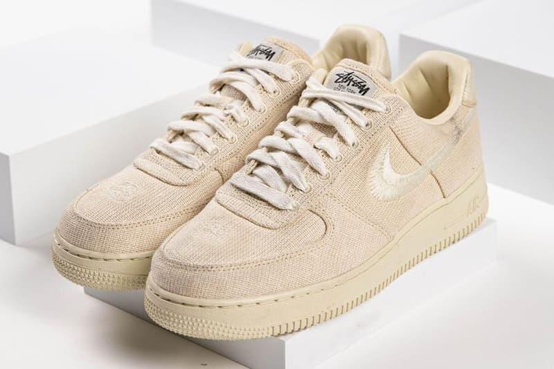 Stüssy x Nike Air Force 1 Low 全新聯乘系列鞋款發售日期曝光