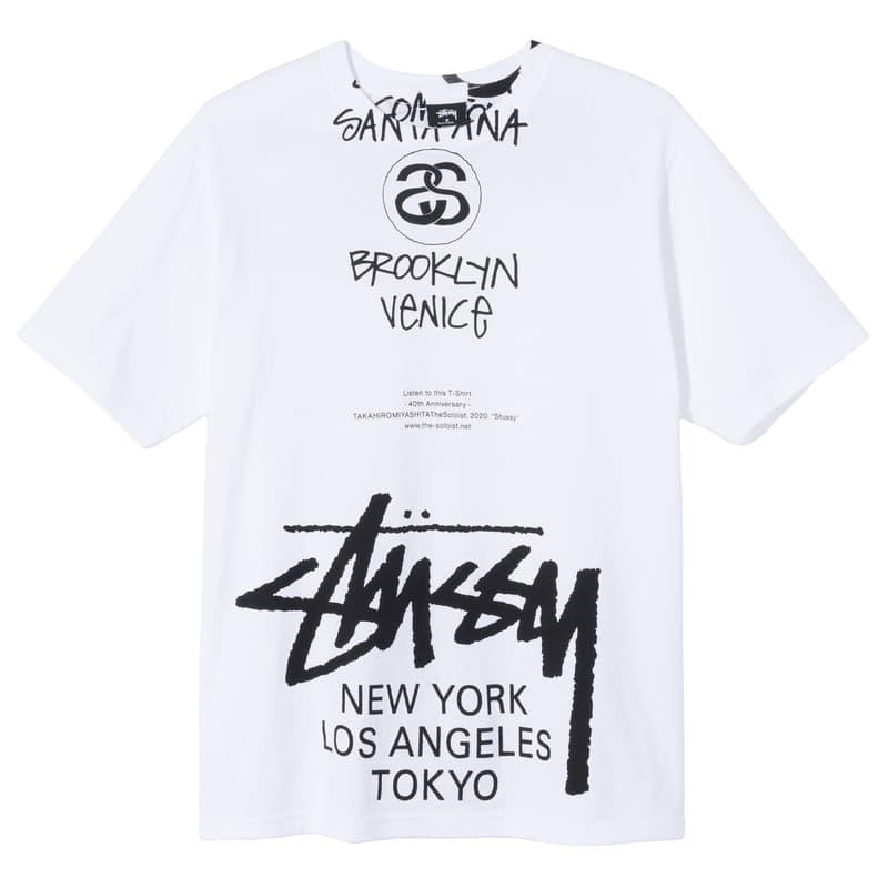 Stüssy 最新設計師聯名系列「World Tour」發售情報公開
