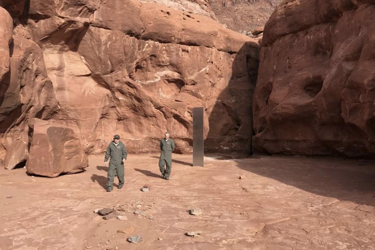 消息稱美國猶他州沙漠出現近似《2001 太空漫遊》的不明巨大金屬碑