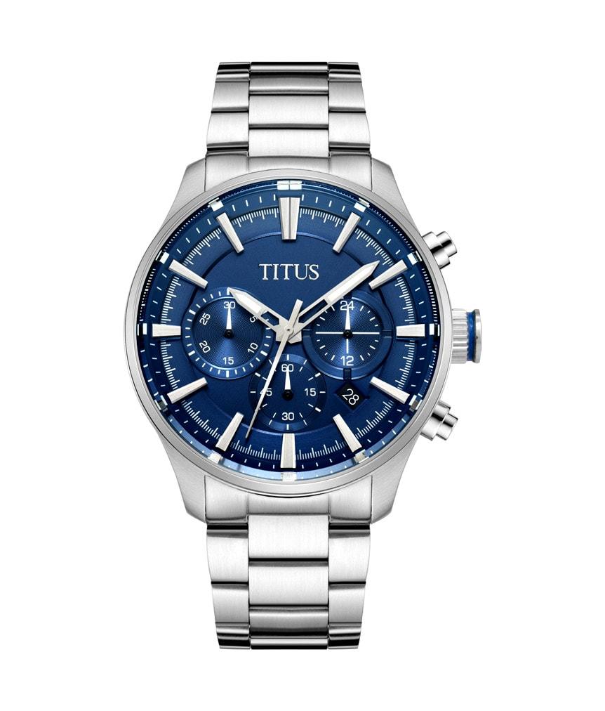 以腕錶彰顯個性-Titus 鐵達時 Saber 劍齒腕錶系列