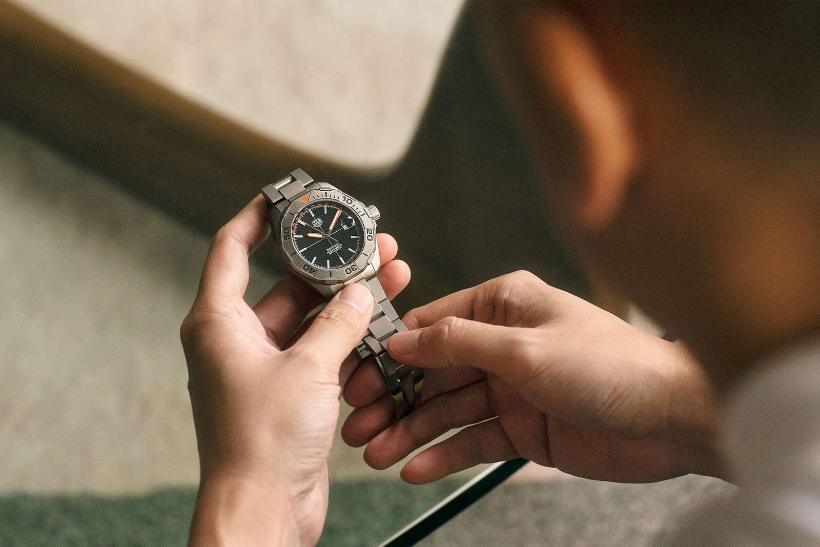 Cookie DPT 創辦人演繹 TAG Heuer × Bamford 限量腕錶