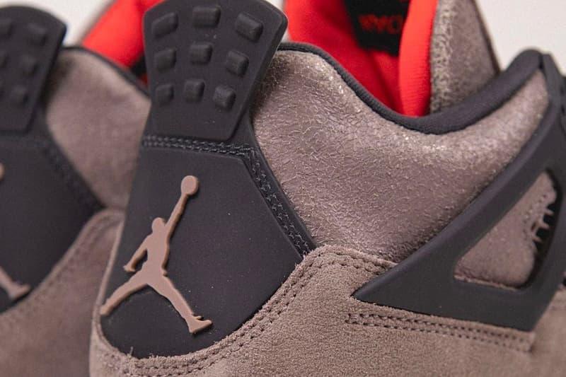 率先近賞 Air Jordan 4 最新配色「Taupe Haze」