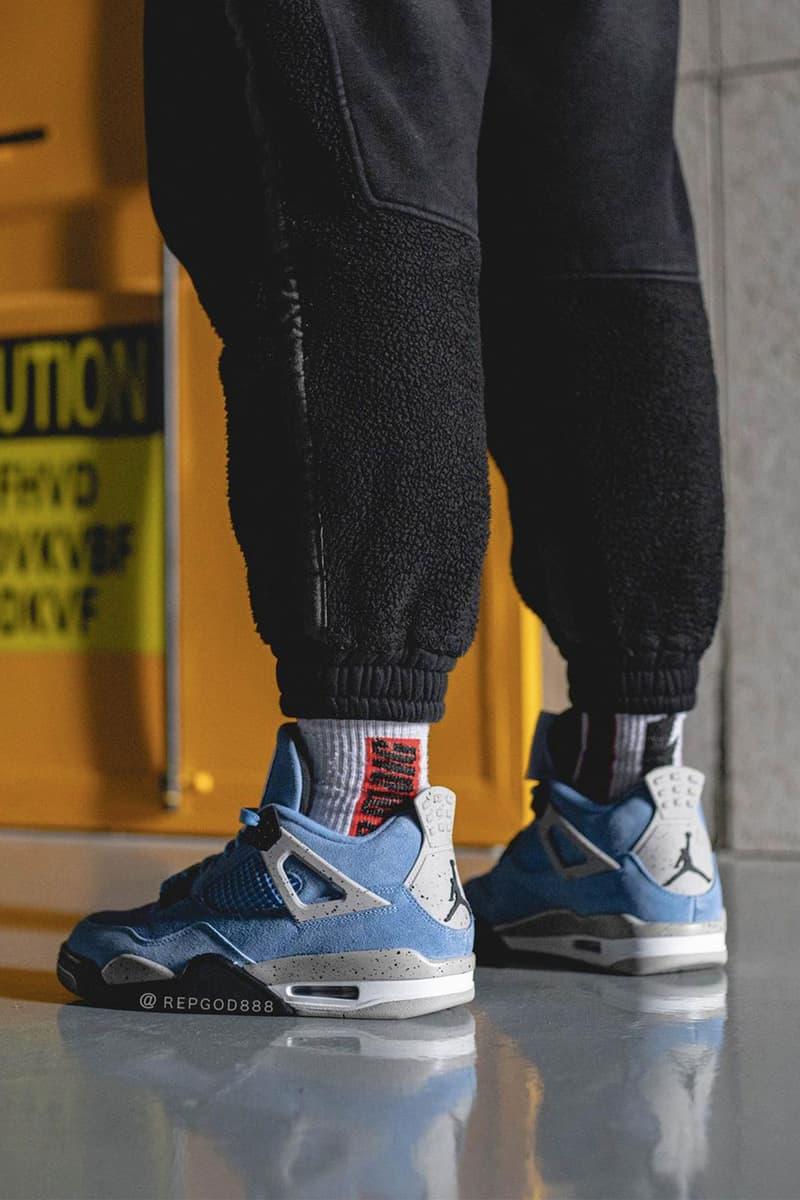 率先近賞 Air Jordan 4 全新配色「University Blue」
