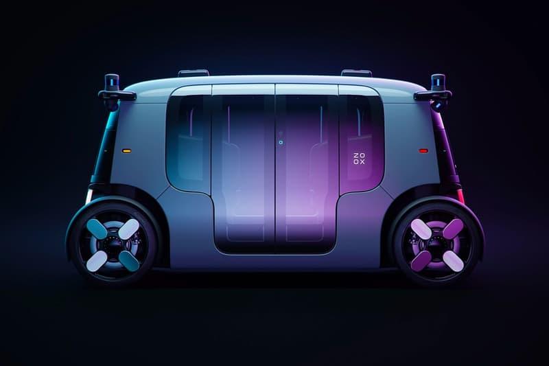 Amazon Zoox 全新自動駕駛車款正式登場