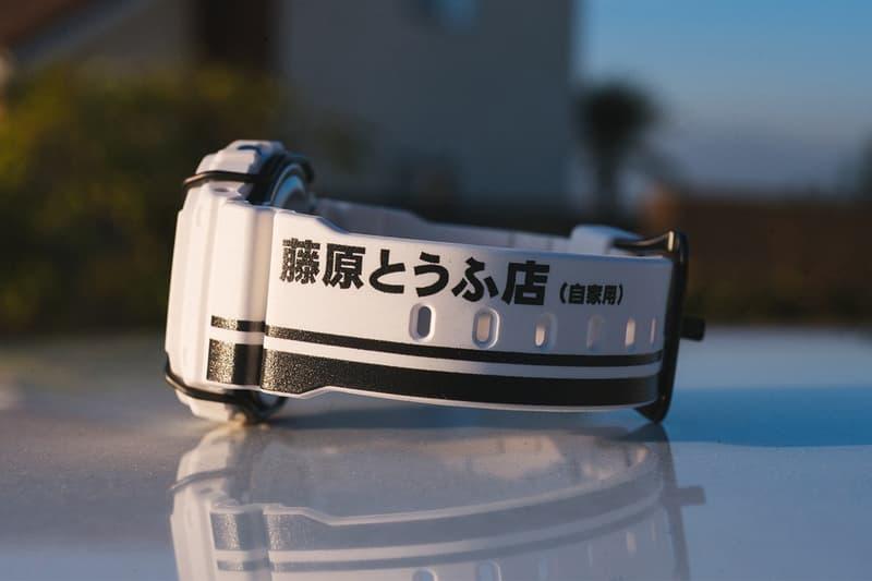 BAIT 攜手 G-Shock 打造全新「頭文字 D」聯乘 DW-5600 錶款