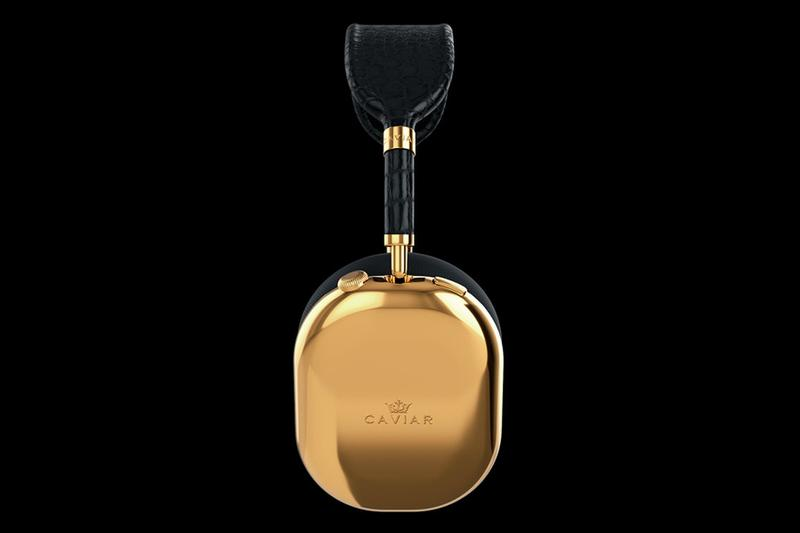 Caviar 打造要價 $108,000 美元之「純金」AirPods Max