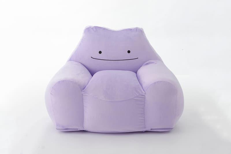 日本傢俱品牌 CELLUTANE 推出全新《Pokémon》「百變怪」造型沙發