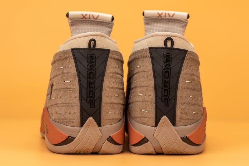 CLOT x Jordan Brand Air Jordan 14 Low 最新聯名鞋款高清近賞圖輯曝光