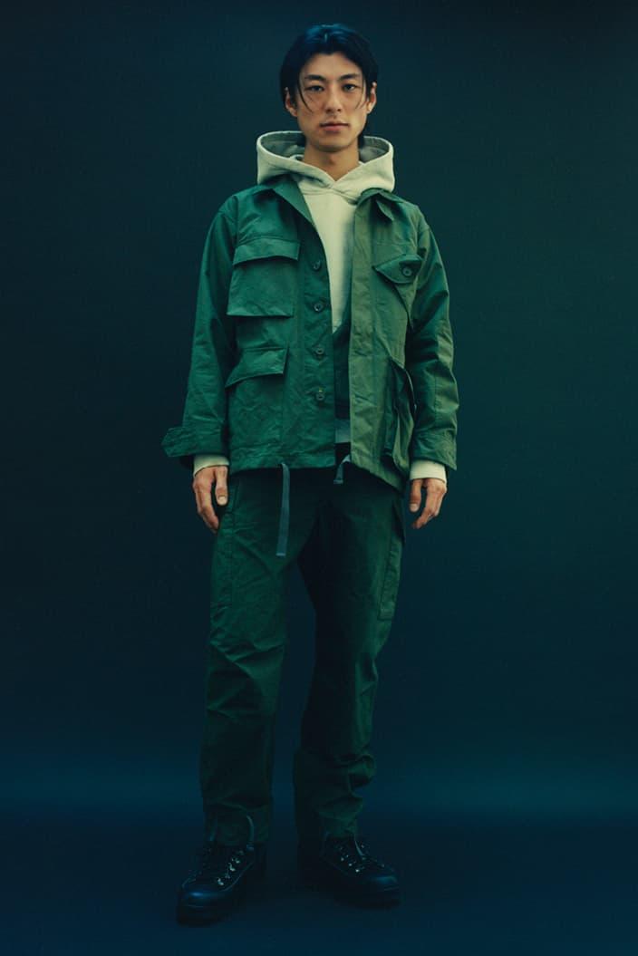 HAVEN x Engineered Garments 全新 2020 秋冬聯乘系列正式發佈