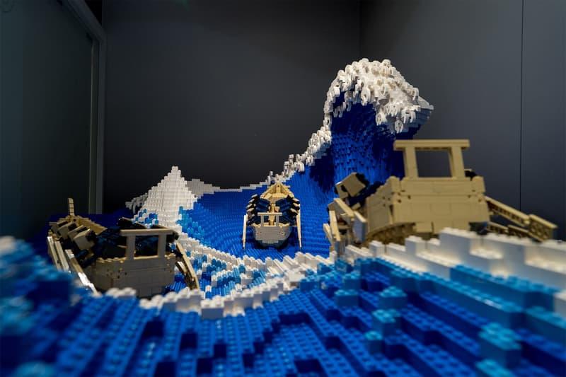 日本 LEGO 達人真正實體化葛飾北齋名作《神奈川沖浪裏》