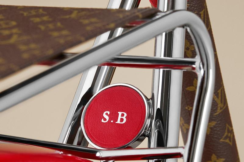 Louis Vuitton 攜手 Maison TAMBOITE 打造全新奢華腳踏車「LV Bike」