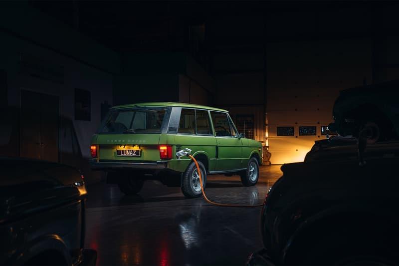 Lunaz 打造要價 £245,000 英鎊經典 Range Rover 電能化改裝車型
