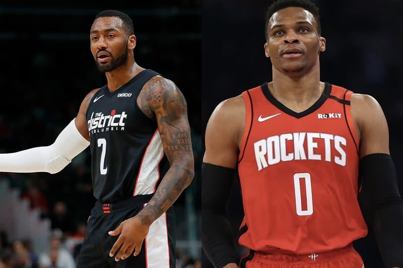 NBA 交易消息-火箭隊交易 Russell Westbrook 至巫師隊換回 John Wall 與首輪籤