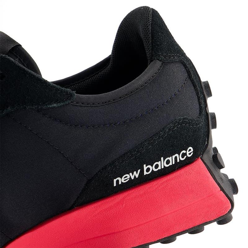 New Balance 327 全新「白藍、黑紅」配色正式上架