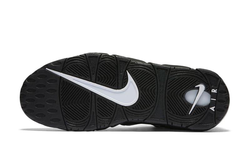 Nike Air More Uptempo 經典 OG 黑白配色即將回歸復刻