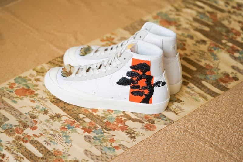 Simple Union 攜手 The Flying Hawk Studio 打造全新客製鞋款 Nike Blazer 77 Mid「松山」