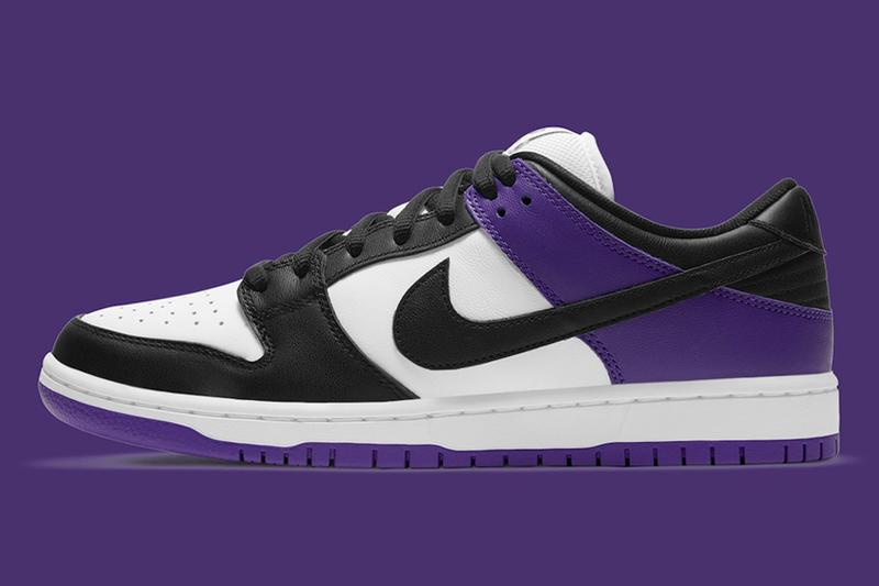 率先預覽 Nike SB Dunk Low 全新配色「Court Purple」