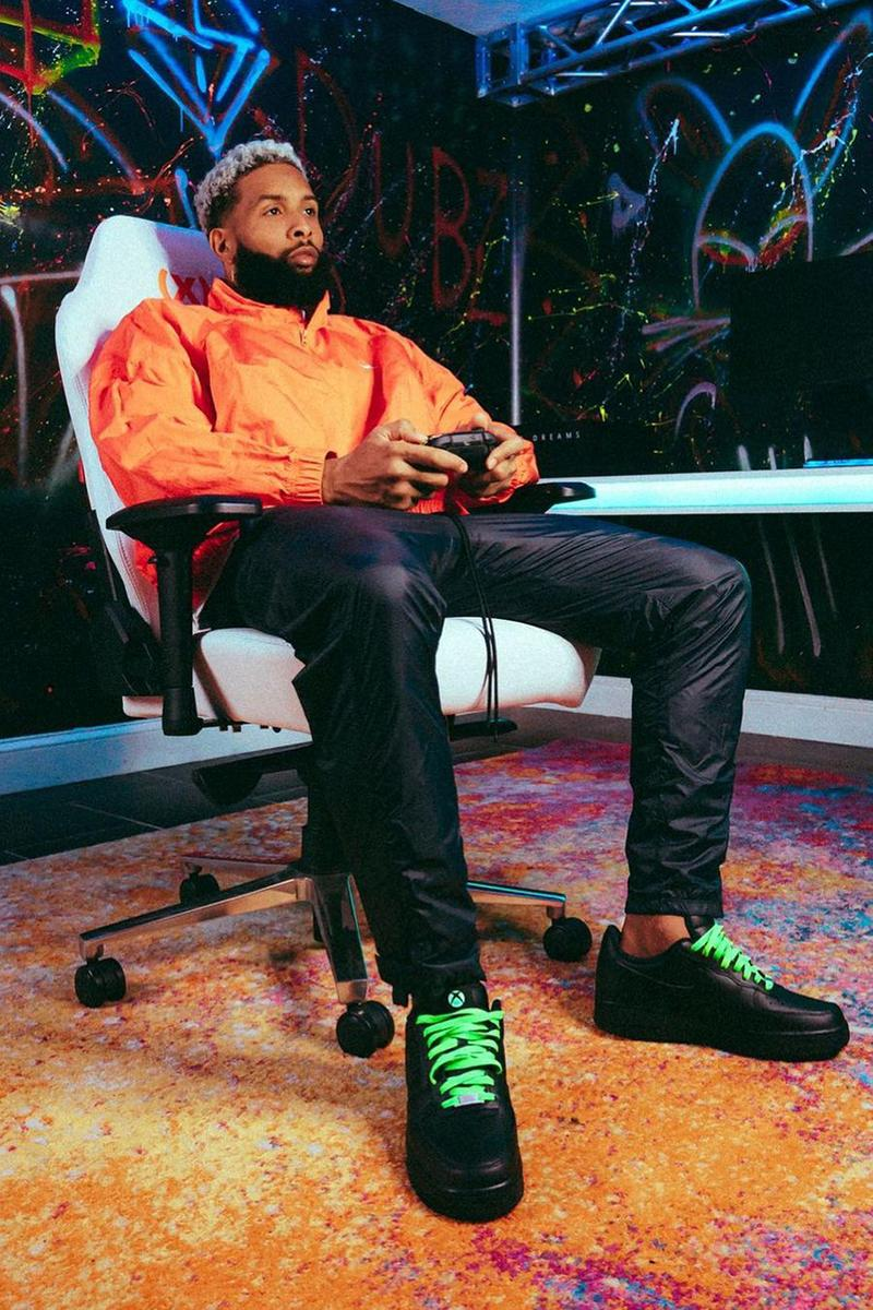 Odell Beckham Jr. 攜手 Xbox 推出獨家 Nike Air Force 1 Low