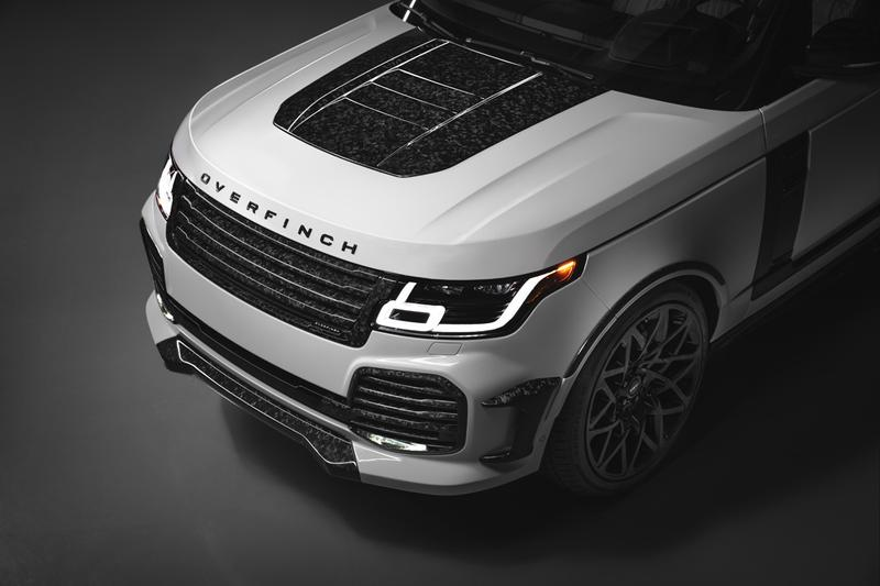 Overfinch 發表 Range Rover 奢華「Velocity Final Edition」改裝車款