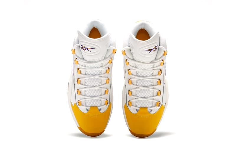 Reebok Question Mid 全新紫金配色「Yellow Toe」正式發佈