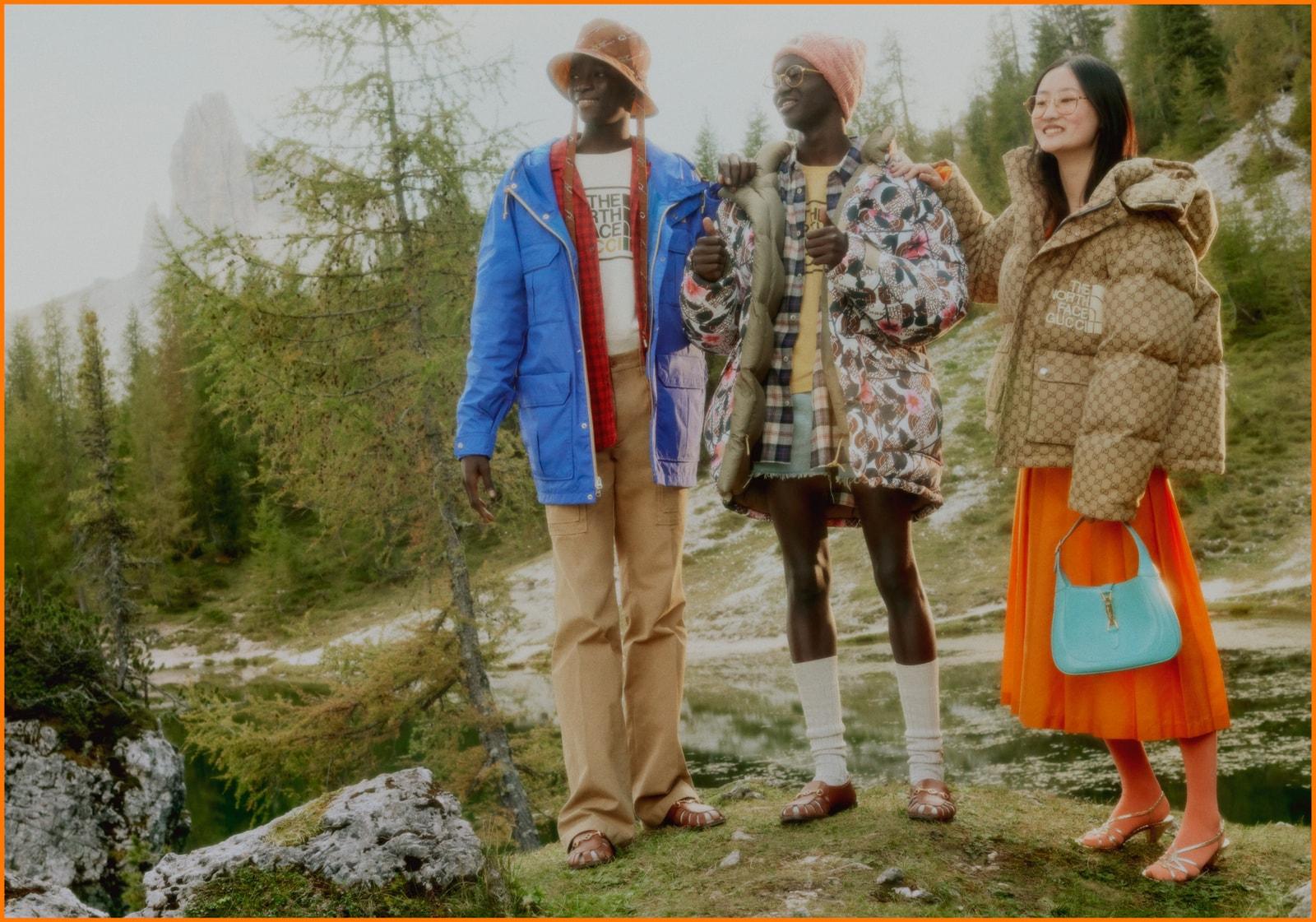 目不暇給 - 搶先預覽 The North Face x Gucci 聯乘系列單品