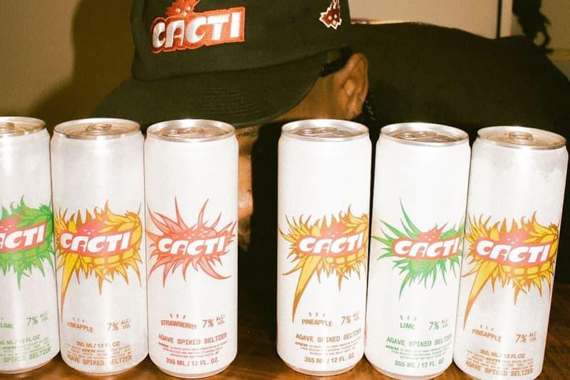 Travis Scott 個人全新酒類飲品系列「Cacti」正式發佈
