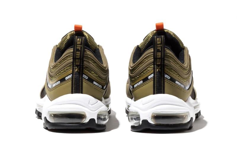 UNDEFEATED x Nike Air Max 97 最新聯名鞋款官方發售日期公開
