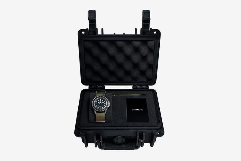 UNDEFEATED 攜手 Unimatic 推出全新 Modello Uno 潛水錶