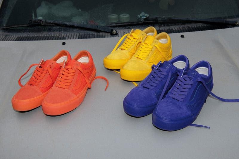 Vault by Vans 推出三款全新鮮明單色調 Old Skool 鞋款