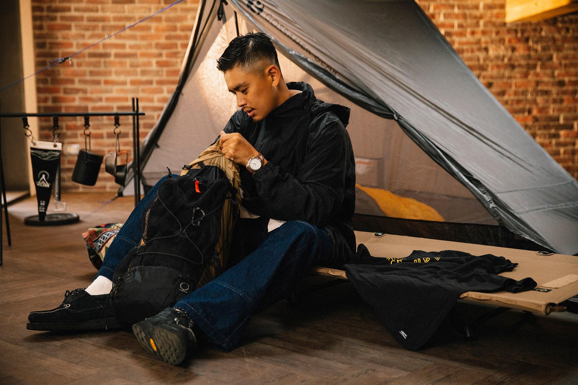 專訪冒險家 WILDER Marc:「每次的 Outdoor 行程,都是一趟冒險的準備。」 STUDIO VISITS