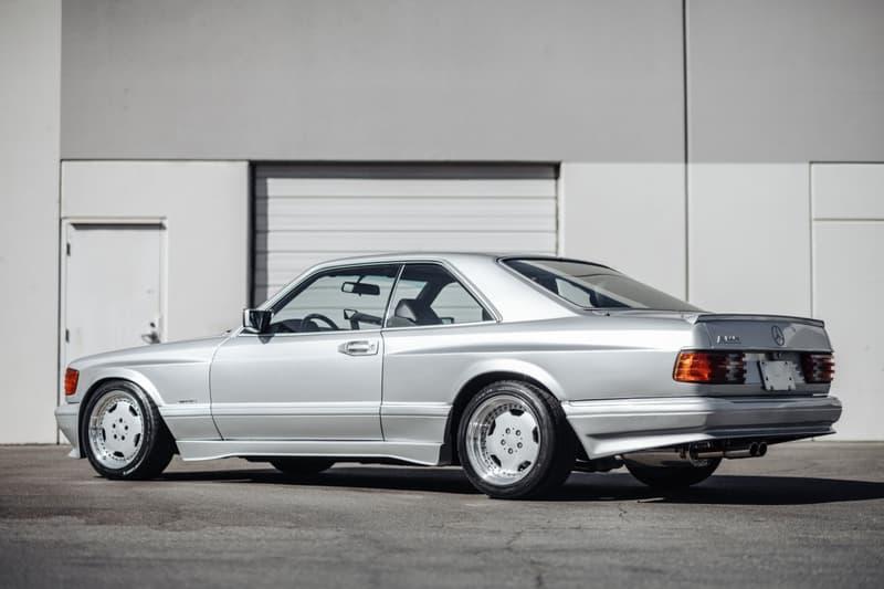 極罕 1989 年式樣 Mercedes-Benz 560 SEC AMG 6.0 Widebody 即將展開拍賣
