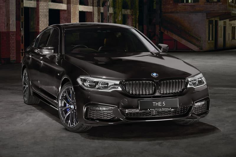 BMW 發表全新 5-Series 極黑車型「Dark Shadow Edition」