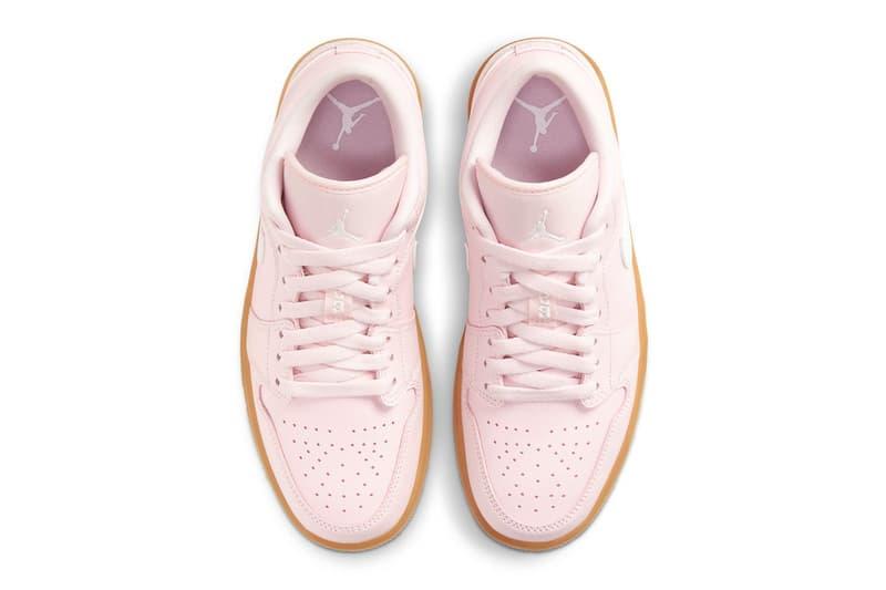 Air Jordan 1 Low 全新配色「Arctic Pink」發佈