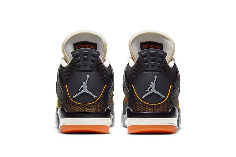 Air Jordan 4 全新配色「Starfish Orange」官方圖輯正式發佈