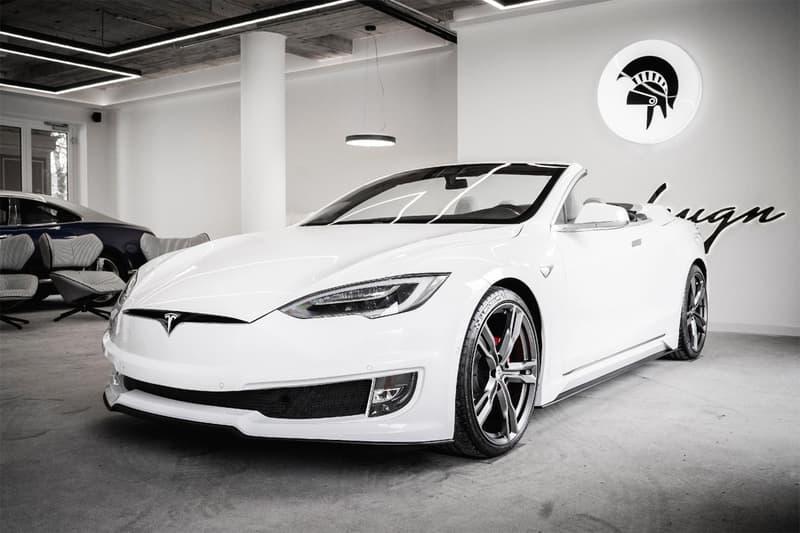 ARES Design 打造全新 Tesla Model S Convertible 雙門敞篷改裝車型