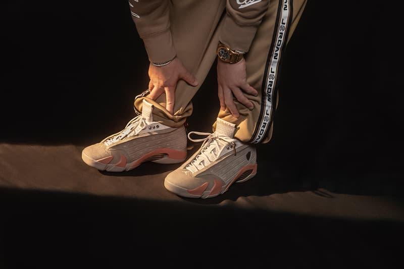 CLOT x Air Jordan 14 Low「Terracotta」最新聯名發售情報正式公開