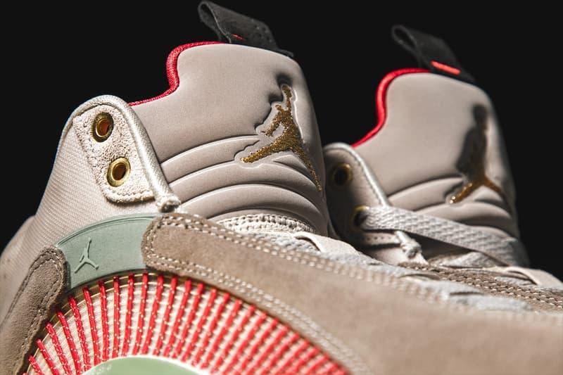 獨家近賞 CLOT x Air Jordan 14 Low「Terracotta」與 Air Jordan 35「Warrior Jade」