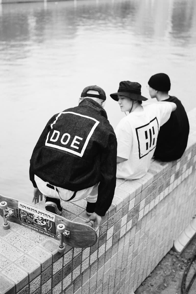 DOE 正式發佈 2021 春夏系列 Lookbook