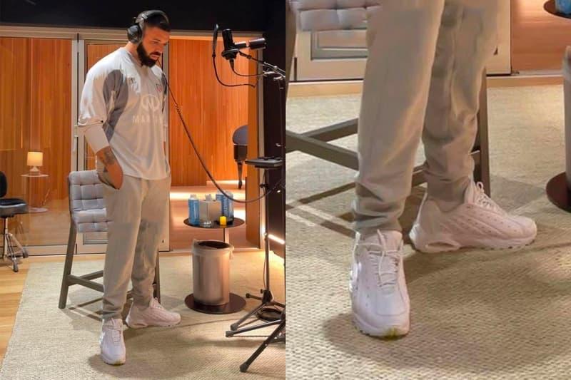 Drake 率先揭示全新 NOCTAxNike Hot Step Air Terra 鞋款