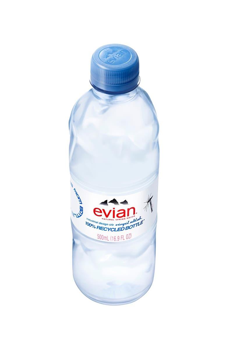 Evian x Virgil Abloh全新瓶裝水設計正式登場