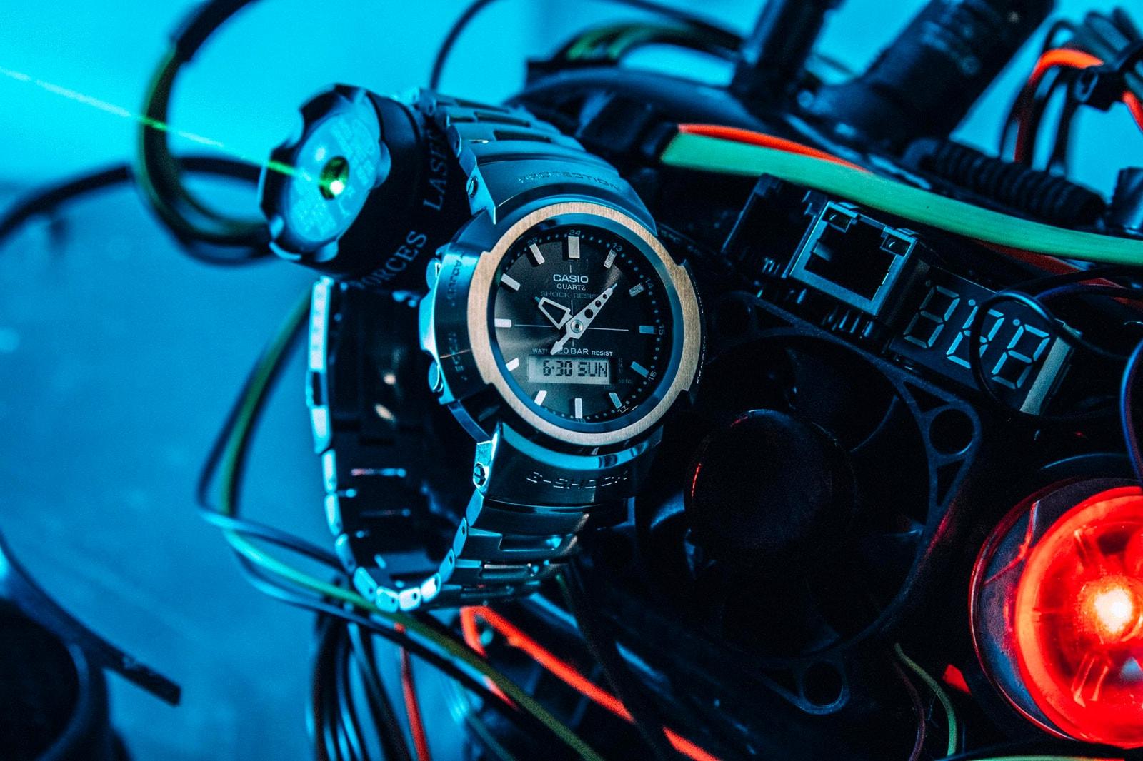 經典設計蛻變而成的金屬未來 G-SHOCK AWM-500