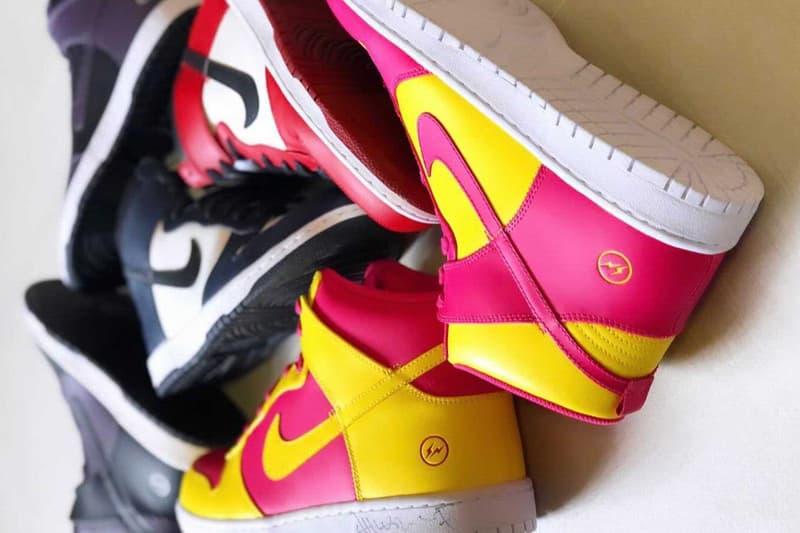 fragment design x Nike Dunk High「City Pack」實鞋圖輯曝光