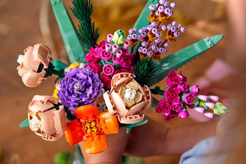 LEGO 推出全新花卉植栽系列盒組「Flower Bouquet」