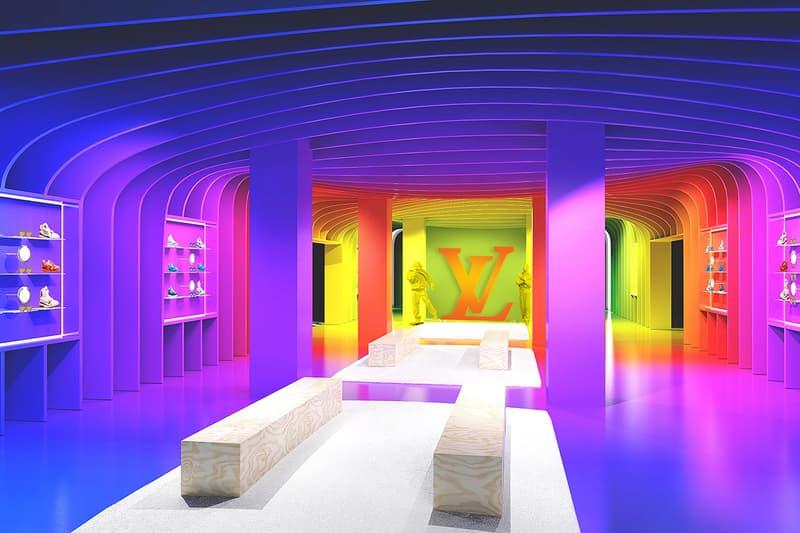Louis Vuitton 2021 年度最新 Pop-up 期間限定店鋪正式登場